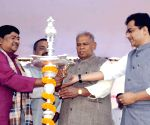 Bihar CM during a inauguration of a workshop