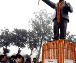 Bihar CM pay tribute to Baba Saheb Dr. BR Ambedkar of his 'Mahaparinirvan Diwas