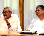 Bihar CM meets officials of Bihar Transport Dept