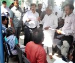 Nitish Kumar listens to public grievance