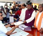 Union Minister Prasad, R.K. Singh file nomination