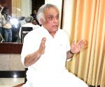 Jairam Ramesh talks to press