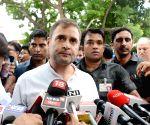 BJP trying to suppress democracy, says Rahul Gandhi
