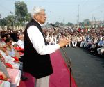 Prakash Karat addresses during a programme