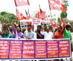 CPI demonstration against Modi