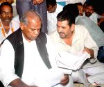 Manjhi addresses members of Kisan Salahkar Sangh