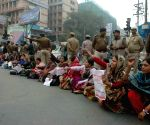 ICDS workers' demonstration