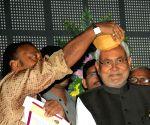Nitish Kumar during Vidyapati Parv