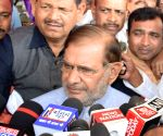 All exit polls wrong, far from truth: Sharad Yadav