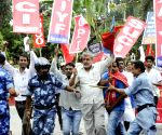 Shutdown against Bihar shelter home rape - Left parties' demonstration