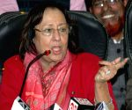 Najma A. Heptulla's press conference