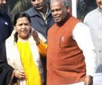 Uma Bharti meets Bihar CM