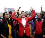 Patna University students' protest