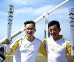 GREECE-OLYMPIC TORCH RELAY-CHINESE TORCHBEARERS