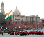 Patriotic fervour sweeps Vijay Chowk at 'Beating the Retreat'