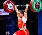 China's Deng sets new world record at Weightlifting WC