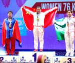 THAILAND PATTAYA WEIGHTLIFTING CHAMPIONSHIPS WOMEN'S 76KG