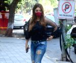 Payal Ghosh at foodhall in Bandra