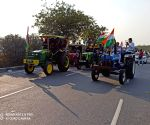 Peaceful rally in Hyderabad to show solidarity with farmers