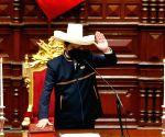 Pedro Castillo sworn in as Peru's new President