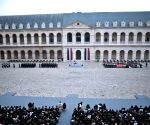 FRANCE PARIS ATTACKS CEREMONY VICTIMS TRIBUTE