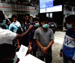 Measures being taken to contain COVID-19 at Chennai Central Railway Station