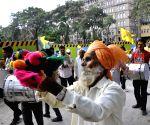 Dhangar demonstration to demand reservation