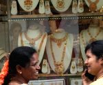 Pre GST rush at jewellery showroom