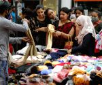 Shoppers buying woollen clothes ahead of winter season at New Market