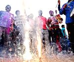 People celebrate Union Govt's Kashmir decision