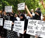Demonstration against Pakistan
