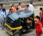 Autos seen all over as BEST buses go off roads