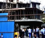 Portion of slab of under-construction building collapses in Nagpada