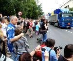 BOSNIA AND HERZEGOVINA-SARAJEVO-SREBRENICA MASSACRE-VICTIMS' REMAINS