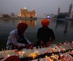Diwali celebrations at Golden Temple