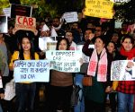 Assamese people protest against CAA
