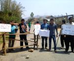 People of Sadar Hill district blocking NH102