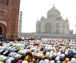 Eid-ul-Fitr namaz at Taj Mahal