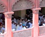 Juma-tul-Wida prayers at Nakhoda Masjid