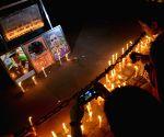 Candlelight vigil for Lt Ummer Fayaz at India Gate