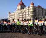 "Kashmir to Kanyakumari"" cycle rally"