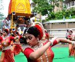 ISKON's Rath Yatra celebration