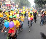 Cycle rally to encourage cycling