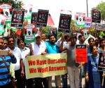 Demonstration to demand protection for whistle blowers