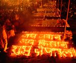 Ganga aarti for martyrs