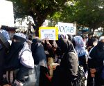 Protest rally against CAB, NRC