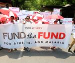 Rally to demand funds for AIDS, TB and Malaria victims