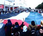 MOROCCO RABAT PROTEST U.S. PEACE PLAN