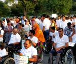 "World Spinal Cord Injury Day"" - awareness rally"