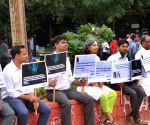 Silent demonstration against mob lynching